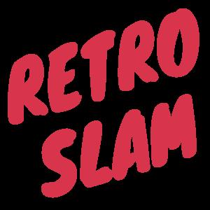 retro slam logo